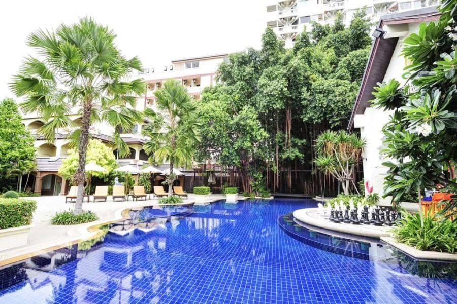 Thailand Jomtien Splendid Resort Zwembad 02