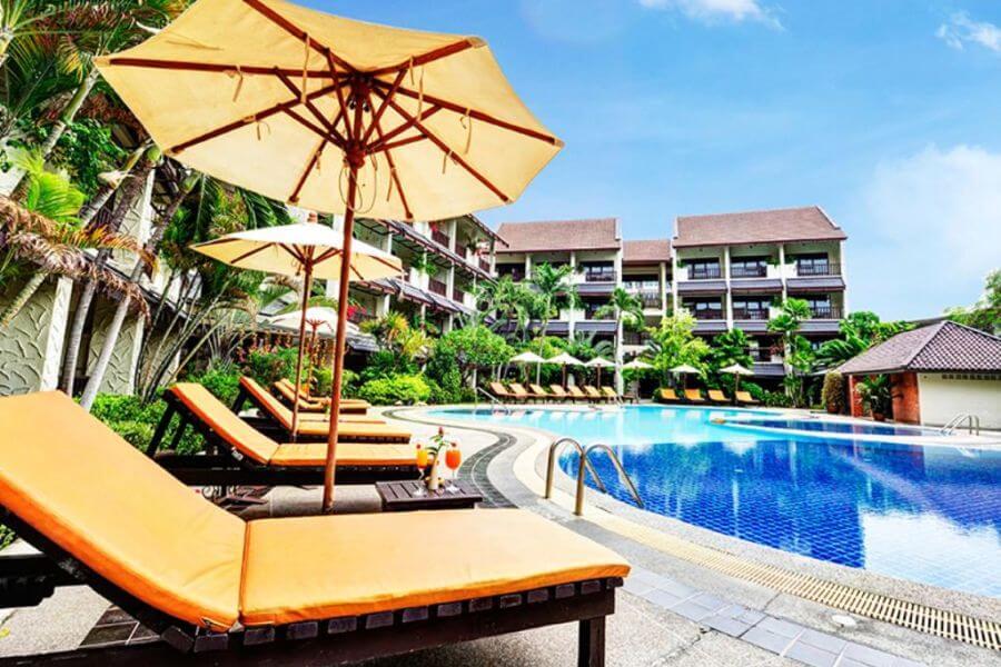 Thailand Jomtien Splendid Resort Zwembad