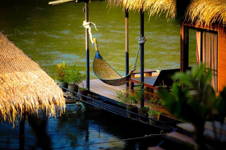 Thailand Kanchanaburi Boutique Rafts Resort 7