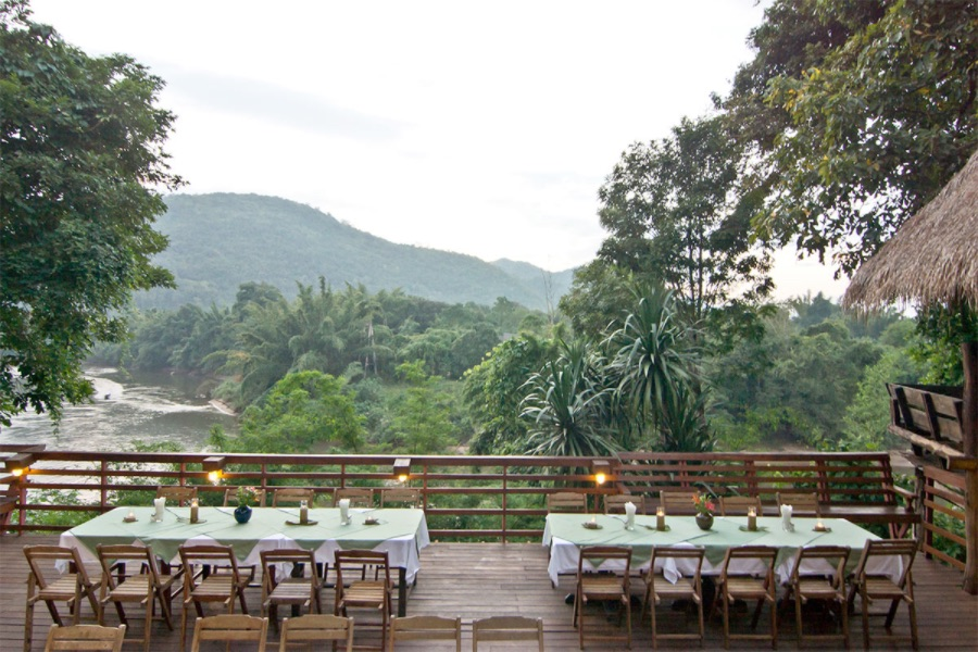 Thailand Kanchanaburi Home Phutoey River Kwai Hotspring Nature Resort 5