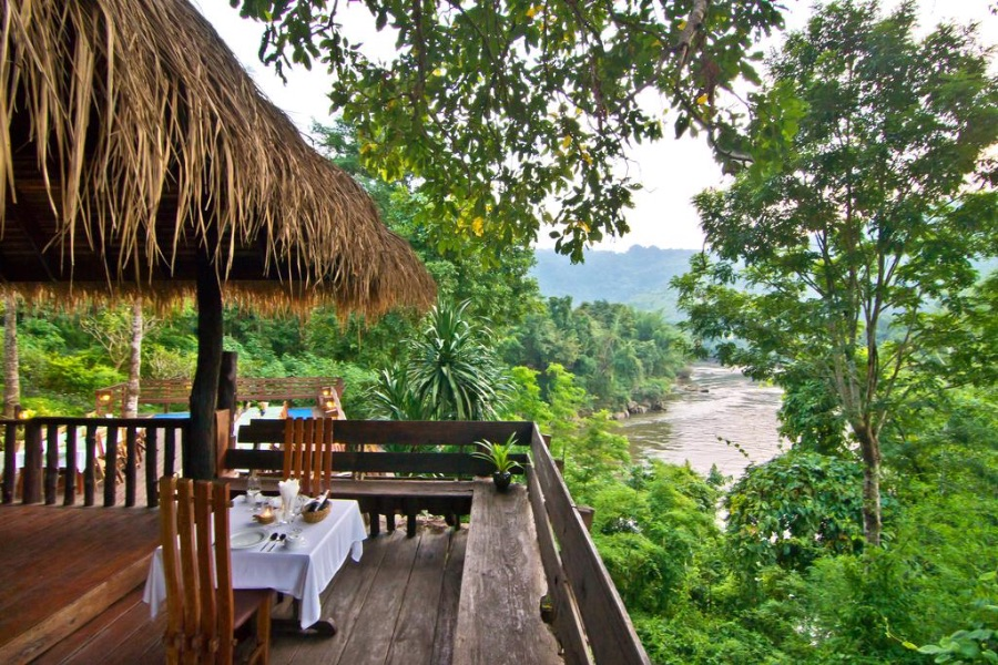 Thailand Kanchanaburi Home Phutoey River Kwai Hotspring Nature Resort 8