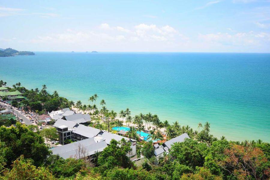 Thailand Koh Chang KC Grande Resort and Spa bovenaanzicht uitzicht