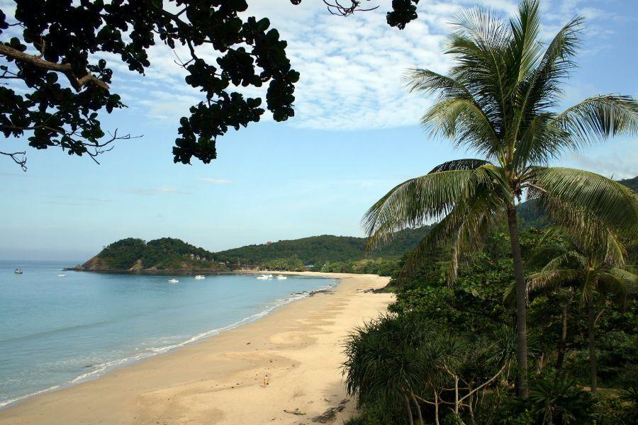 Thailand Koh Lanta eiland strand palmboom