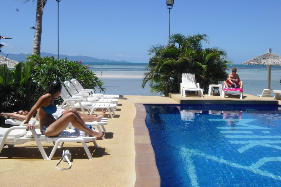 Thailand Koh Phangan Milky Bay Resort Hotel 4
