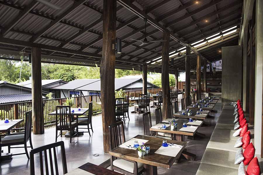 Thailand Koh Samui Akyra Chura Samui Resort restaurant