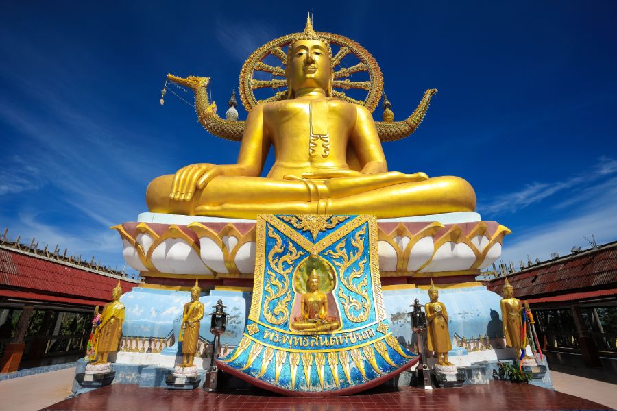 Thailand Koh Samui Big Buddha statue
