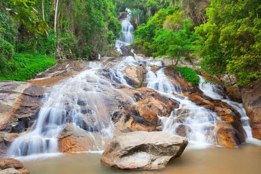Thailand Koh Samui Na Muang waterval