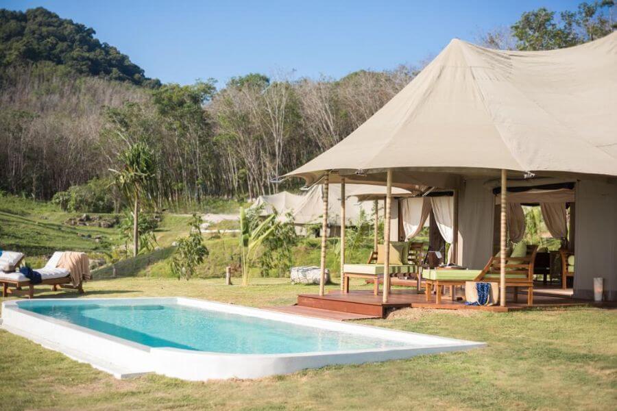 Thailand Koh Yao Noi Koyao Island Resort Panorama Tented Pool Villa 05