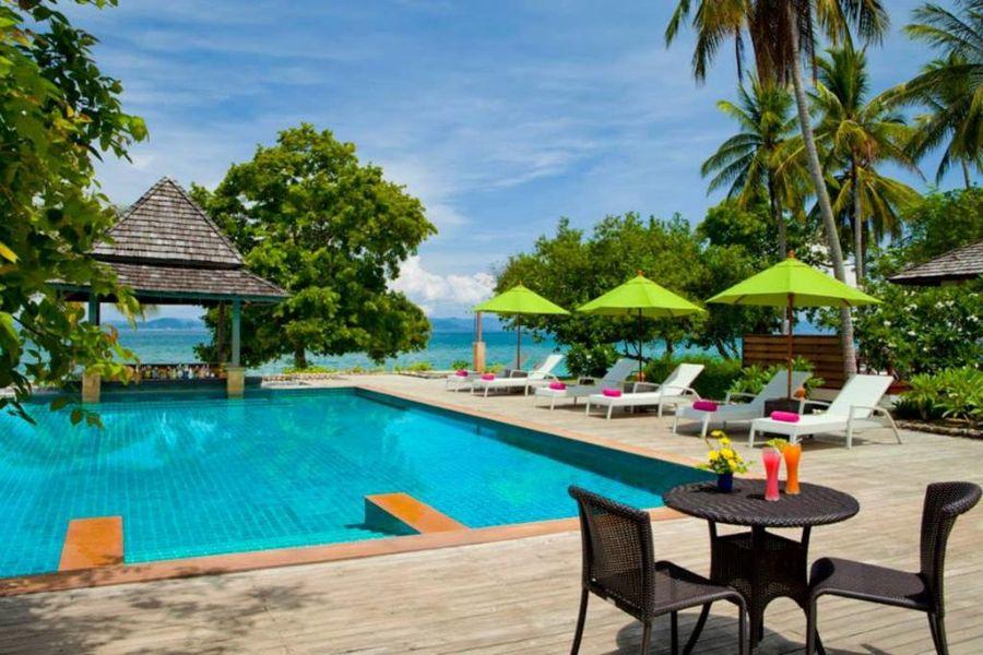 Thailand Koh Yao Yai GLOW Elixir zwembad 2