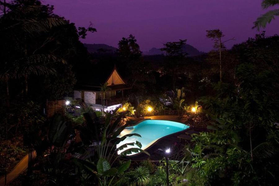 Thailand Krabi Ao Nang Cliff View Resort Hotel 1