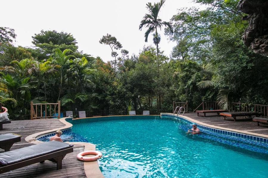 Thailand Krabi Ao Nang Cliff View Resort Hotel 8