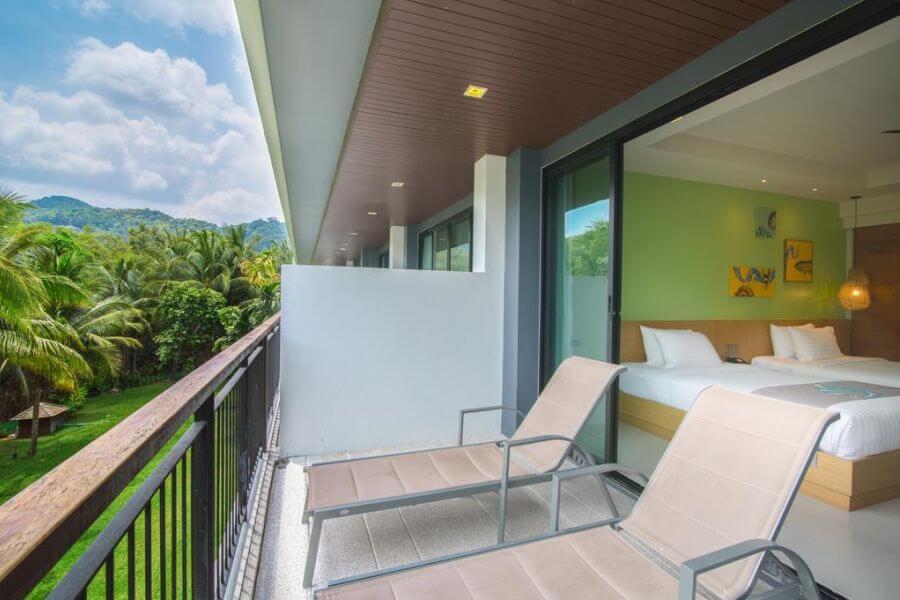 Thailand Krabi Holiday Inn Resort Krabi kamer garden view