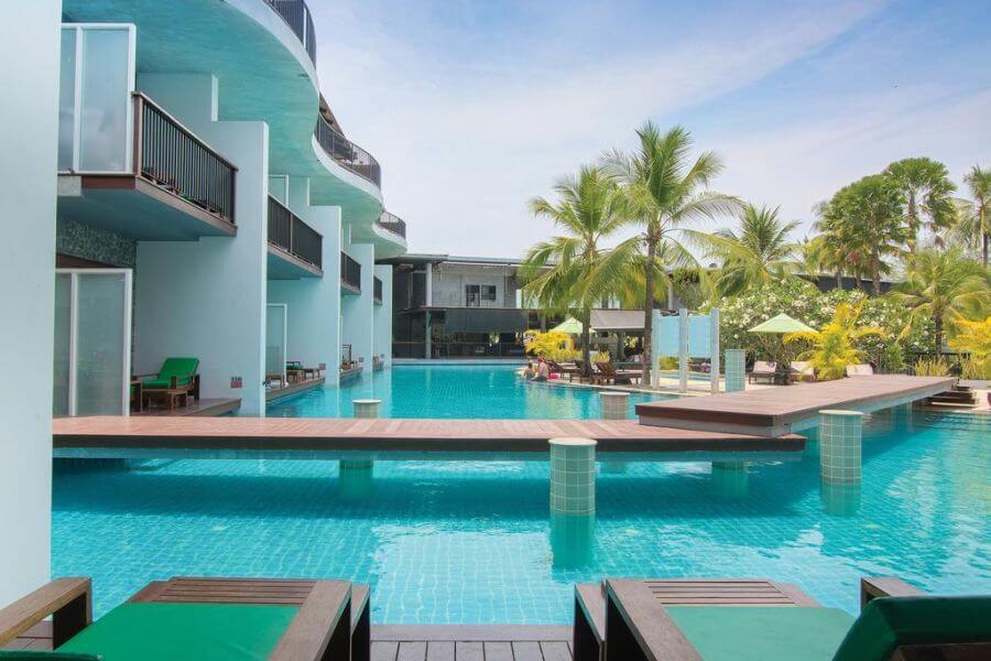 Thailand Krabi Holiday Inn Resort Krabi zwembad