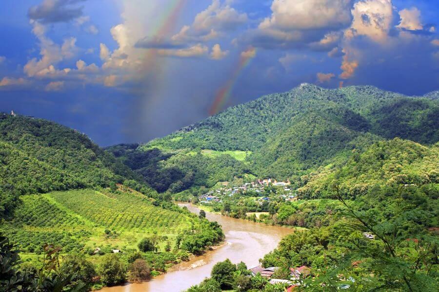 Thailand Laos Myanmar 2 Daagse Fietstour Gouden Driehoek Mekong