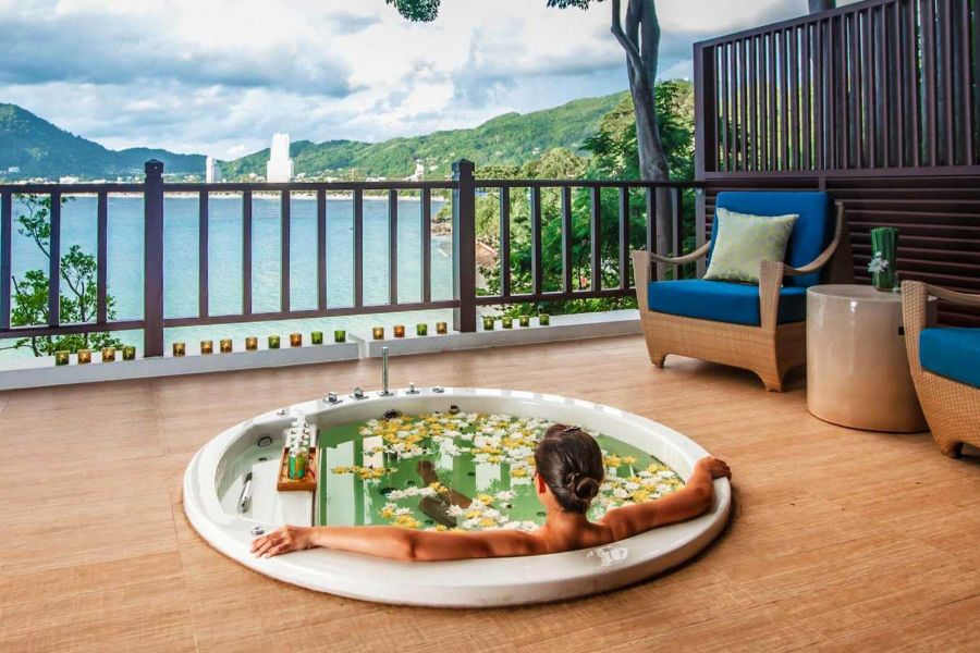 Thailand Phuket Amari Phuket Resort breeze spa massage bubbelbad