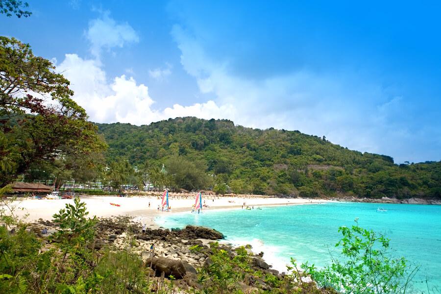 Thailand Phuket Bezienswaardigheden eiland zee Strandvakantie Eastin Hotel The Old Phuket