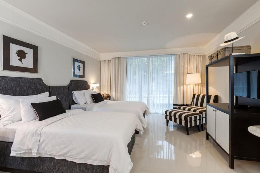 Thailand Phuket Sugar Marina Fashion Resort kamer deluxe