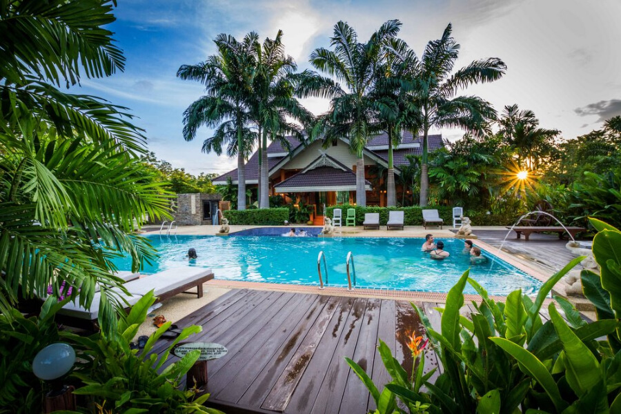 Thailand Sukhothai Le Charme 04 zwembad
