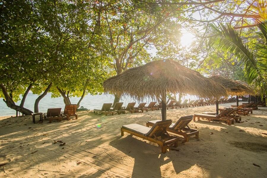Thailand Trang Koh Kradan The Sevenseas Resort 10