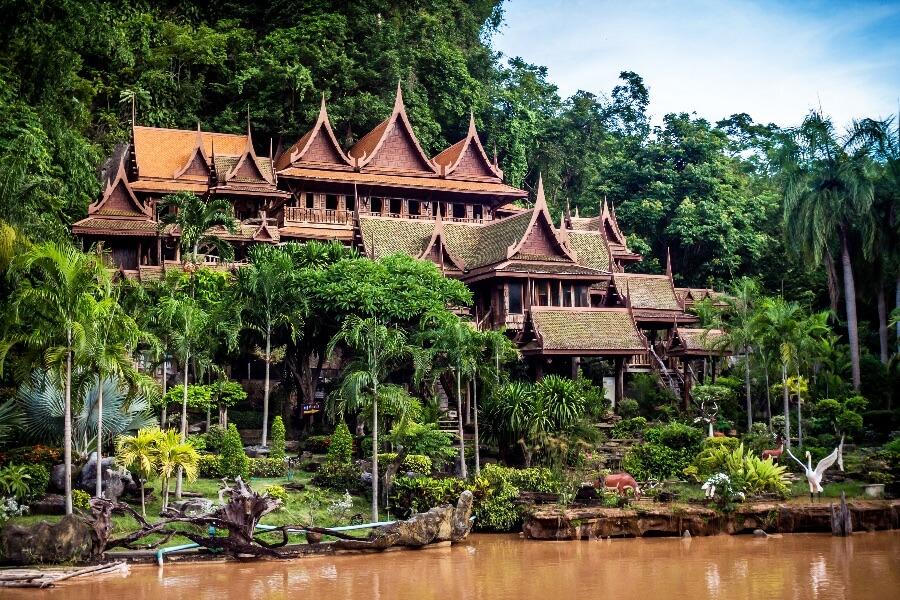 Thailand Uthai Thani Omgeving 1
