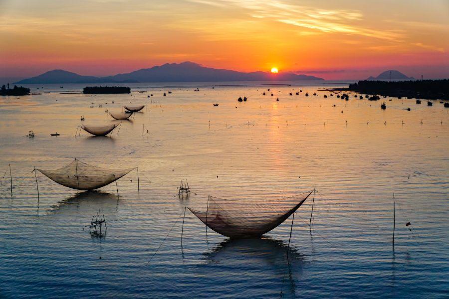 Vietnam Cua Dai Vissersdorpje