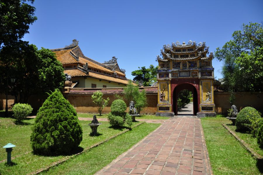 Vietnam Hue Keizerlijke citadel