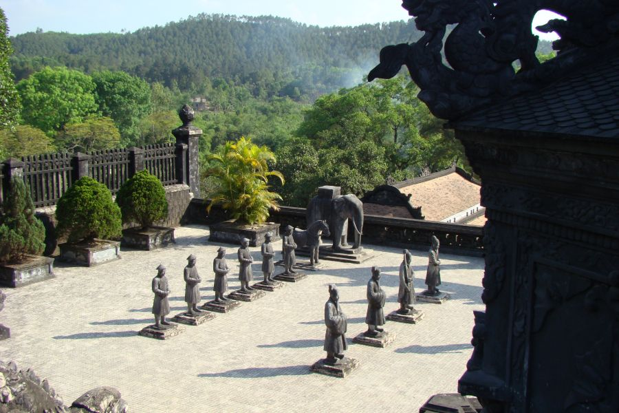 Vietnam Hue Keizerlijke graven