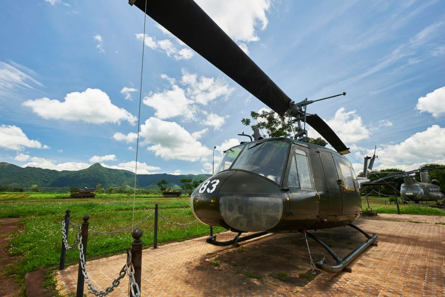 Vietnam Quang Tri helikopter