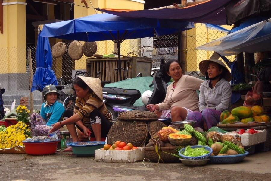 fi Vietnam Food lovers Hoi An markt eten fuit