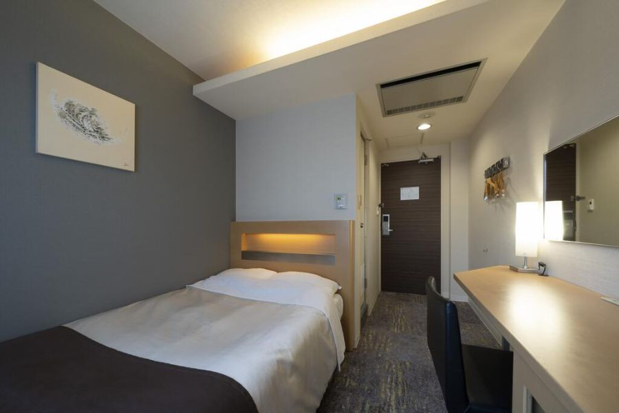 Binario Hotel Osaka tweepersoonskamer 1