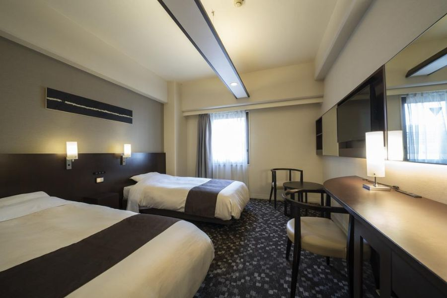 Binario Hotel Osaka tweepersoonskamer