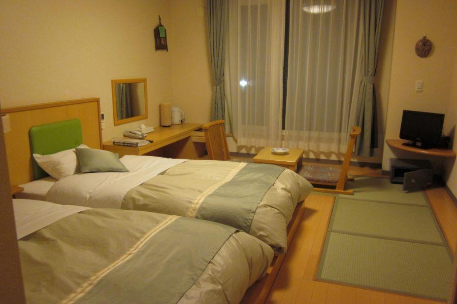 Daiichi Hotel Rausu kamer