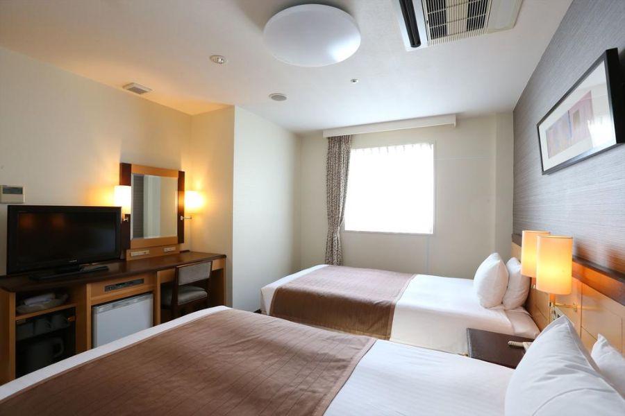 Hotel Hokke Club Sapporo kamer 1