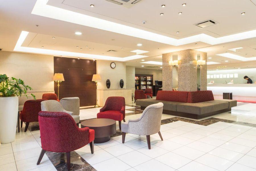 Hotel Hokke Club Sapporo lobby