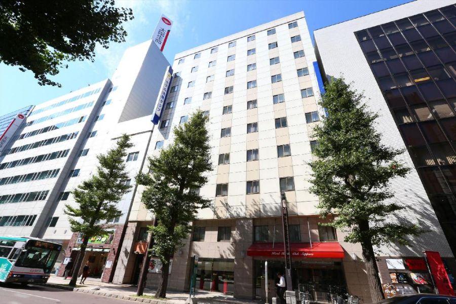 Hotel Hokke Club Sapporo voorzijde