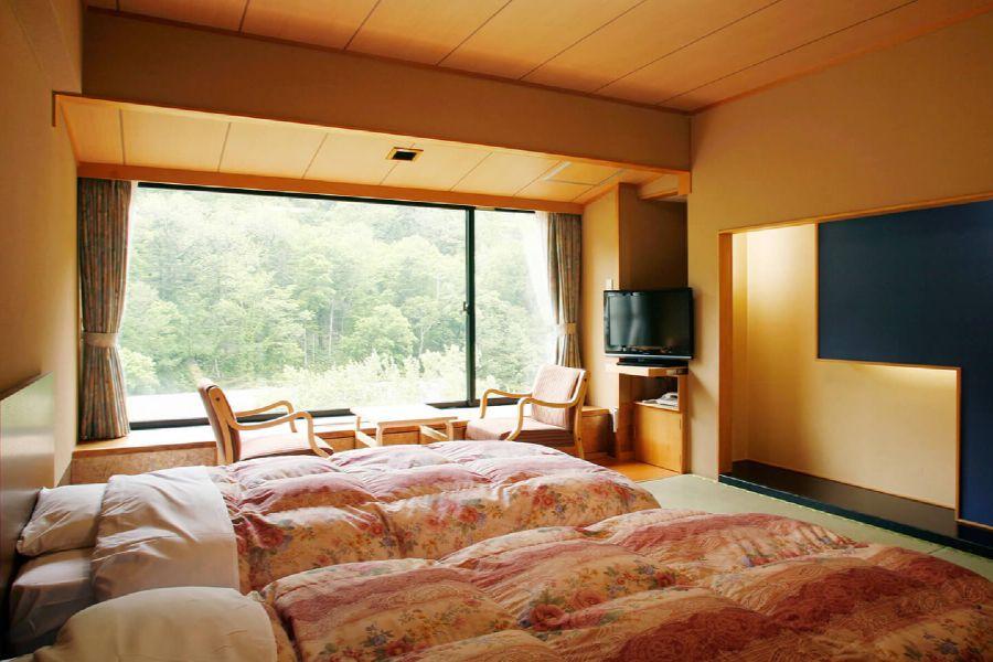 Kanko Hotel Sounkyo kamer