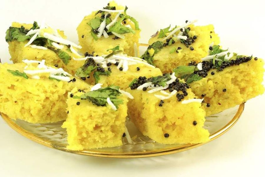 Dhokla Indian food