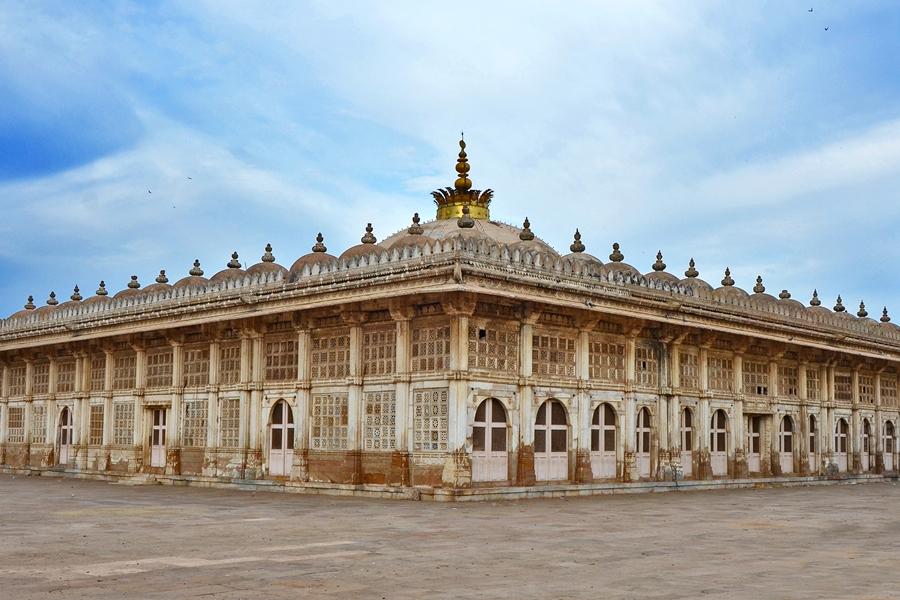 India Ahmedabad Sarkhej Roza moskee