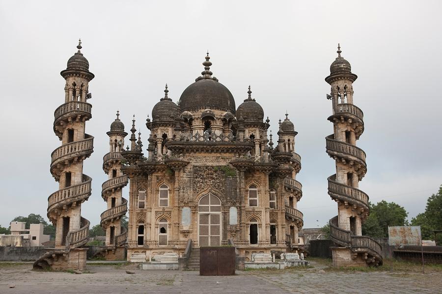 India Ahmedabad Tempel