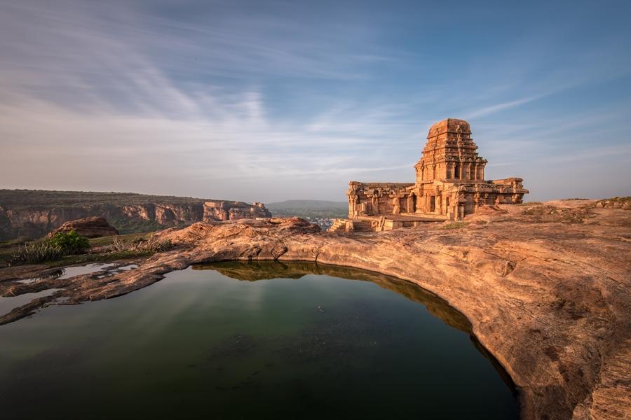India Badami Shiva tempel Chalukya periode