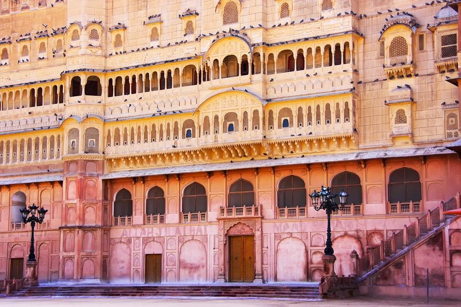 India Bikaner Junagarh fort architectuur