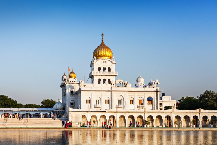 India Delhi Gurdwara bangla sahib tempel moskee
