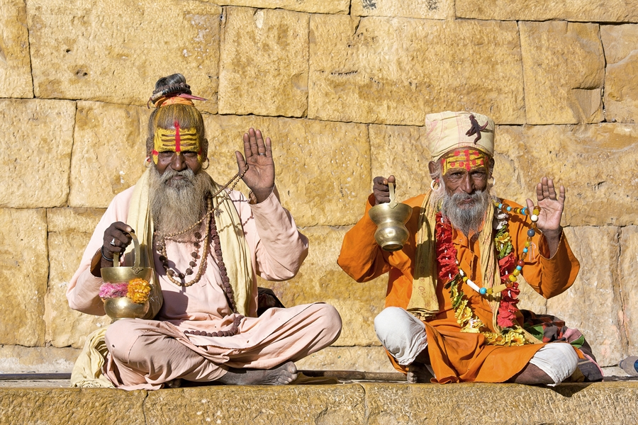 India Delhi Sadhu Jaisalmer
