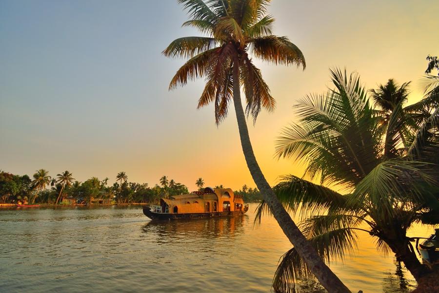 India Houseboat Kerala backwaters boot 1