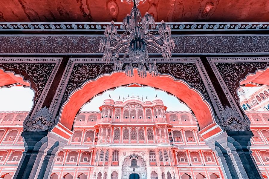 India Jaipur Stadspaleis