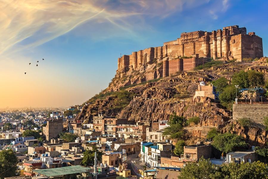 India Jodhpur UNESCO mehrangarh fort