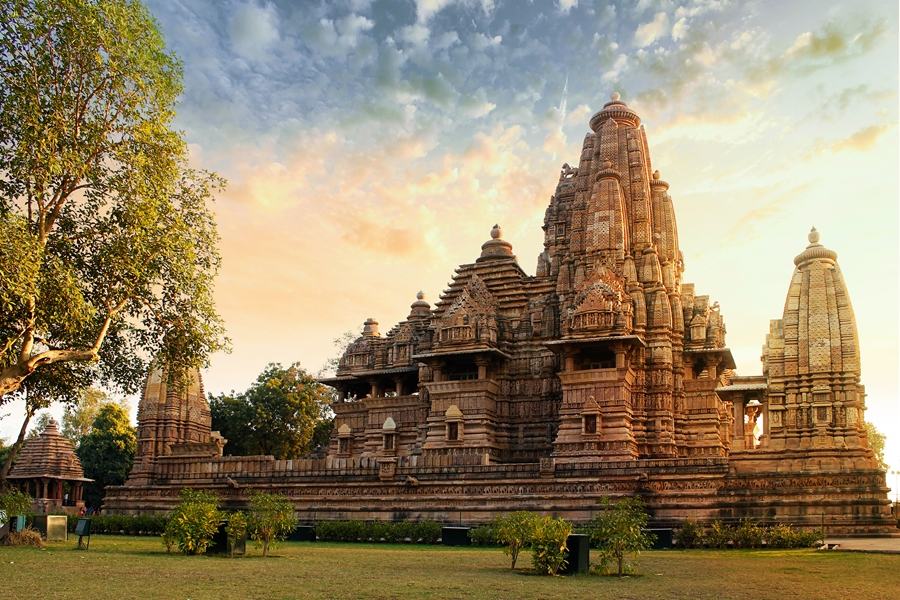 India Khajuraho Madhya pradesh tempel