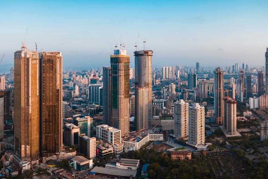 India Mumbai Skyline