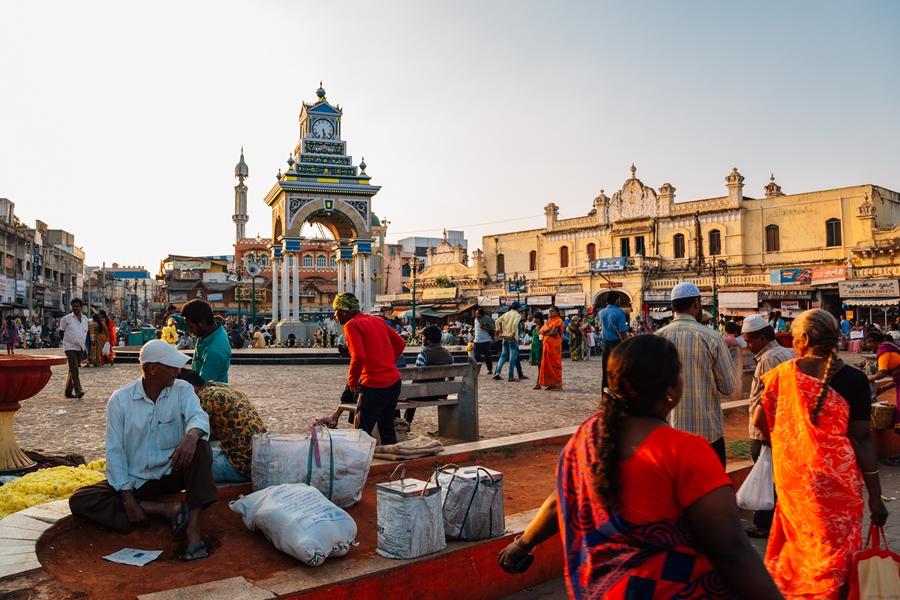 India Mysore Devaraja markt 1