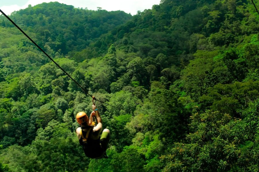 Flying Hanuman Zipline, Phuket